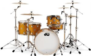 dw collector series 4pc drum set
