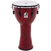 Toca Synthetic Body Djembe Red Mask 젬베(T...