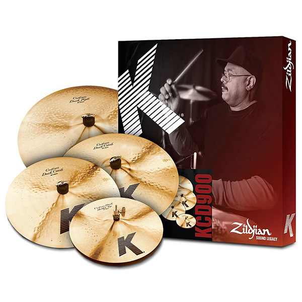 "Zildjian K Custom Dark 심벌세트+ 18""Crash(KC..."