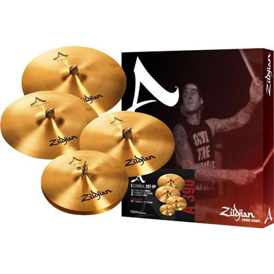 "A Zildjian Matched 심벌세트 + 18"" Crash(A390)[특가판매]"