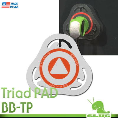 Slug Percussion Triad Pad HD 베이스용 임팩트패드BB-TP/SL-PAD-T1)