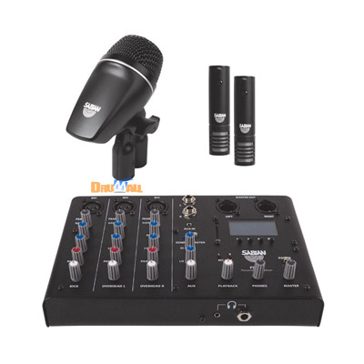 Sabian Sound Kit Drum Mic & Mixer Kit 사운...