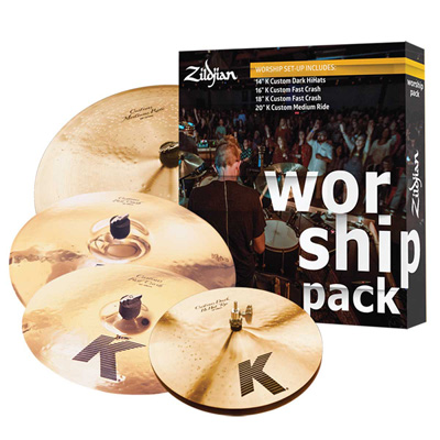 Zildjian K Custom Worship Pack 심벌세트