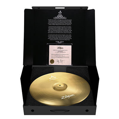 Zildjian A Custom 25th Anniversary Ride ...