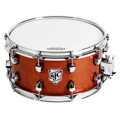 SJC Tour Series Snare Golden Ochre Satin...